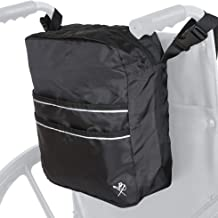 Pembrook Wheelchair Mobility Tote Bag - Travel Accessories Storage Side or Back Bag - Fits Most Walker, Scooter, Seat/Chai...