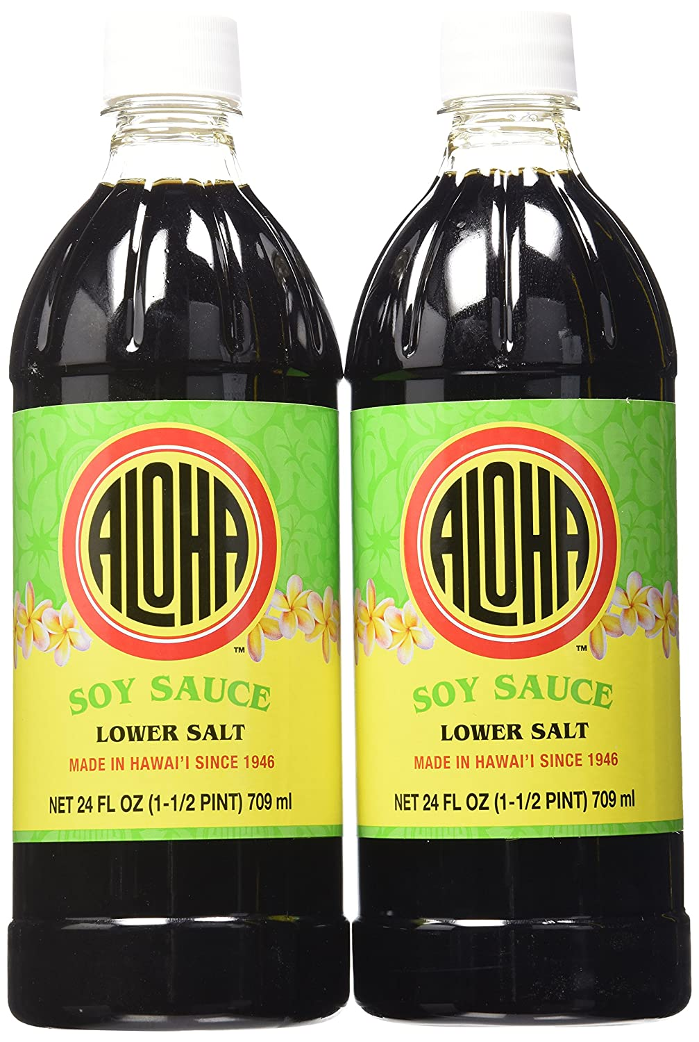 Aloha Lower Branded goods Salt Soy Sauce 2 OFFicial mail order Ounce of 24 Pack