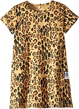 Basic Leopard Dress (Infant/Toddler/Little Kids/Big Kids)