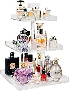 CLEAR 3 Tier Perfume Tray, Perfume Organizer, Vanity Tray, Acrylic Tray
