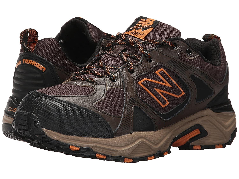 (ニューバランス) New Balance メンズランニングシューズ?スニーカー?靴 MT481v3 Chocolate Brown/Black 8.5 (26.5cm) 4E - Extra Wide