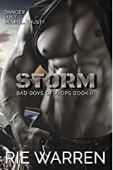 Storm (Bad Boys of X-Ops Book 3) Kindle Edition