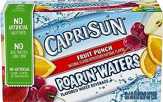 Capri Sun Roarin' Waters Fruit Punch Juice Drink (6 oz Pouches, 10 Count)