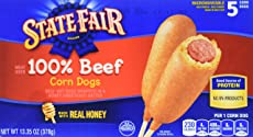State Fair, All Beef Corn Dog, 5 ct, 13.35 oz (frozen)