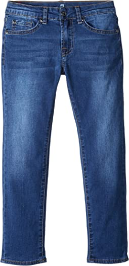 7 For All Mankind Kids Slimmy Jeans in Bristol (Little Kids/Big Kids)