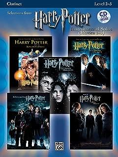 Harry Potter Instrumental Solos (Movies 1-5): Clarinet, Book & CD (Pop Instrumental Solos Series)