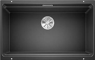 Blanco 铂浪高 ETAGON 厨房水槽 煤灰色 80 cm Unterschrank 525167
