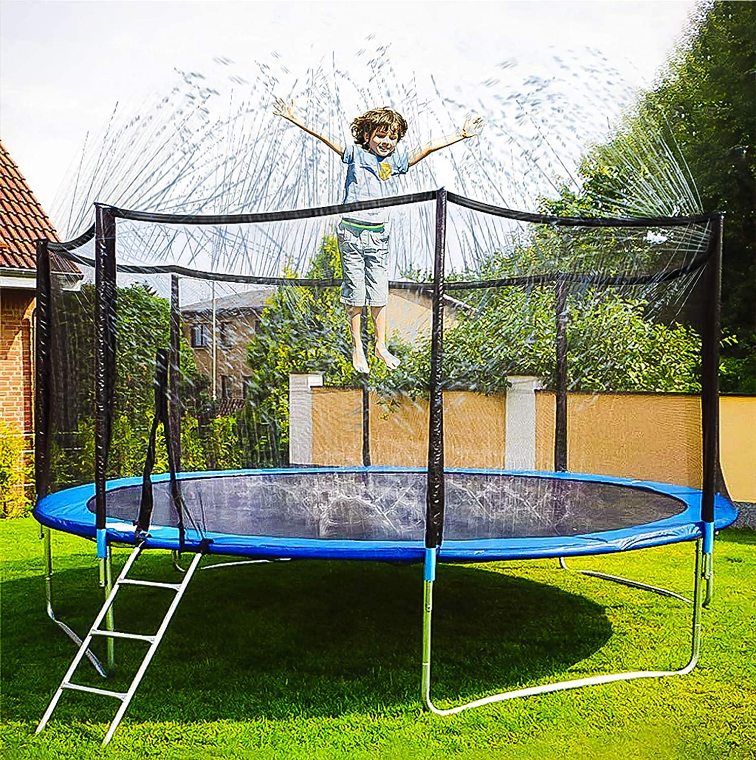 Neoformers Trampoline Sprinkler Water Game Park New Free Shipping S Portland Mall Outdoor