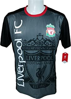 Liverpool F.C. Soccer Official Adult Soccer Training Performance Poly Jersey P002