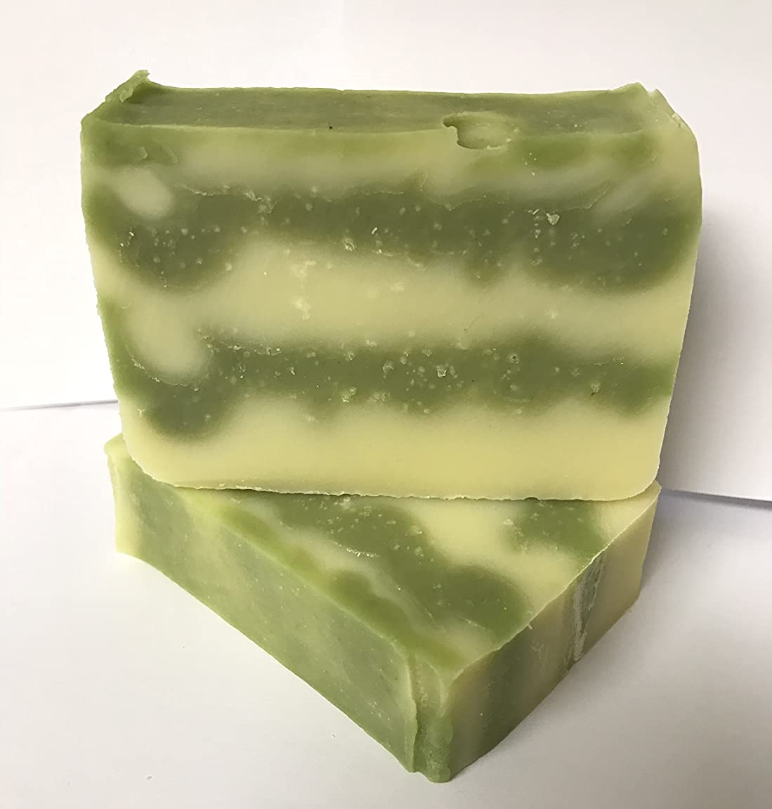 ORGANIC TEA TREE BASIL MINT HANDMADE SOAP-ALL NATURAL & VEGAN sy717305987852