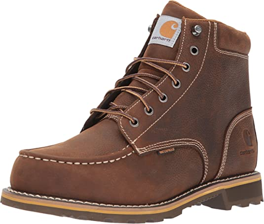 Carhartt Men's 6-inch Lug Bottom Moc Soft Toe Industrial Boot
