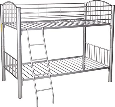 DONCO Kids Series Bed, Twin/Twin, silver