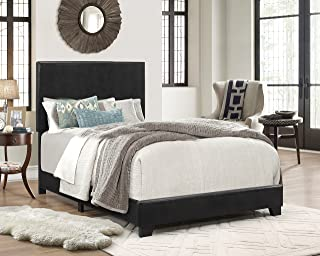 black platform bedroom set