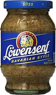 Lowensenf Bavarian Sweet Mustard Jar 10.05 Ounce