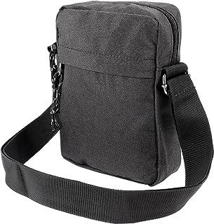 Men Travel Passport Shoulder Bag Cross Body Sling Chest Bag Danim Canvas Style