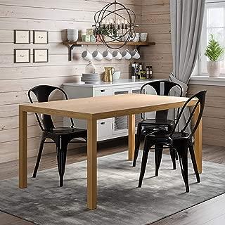Novogratz Memphis Rectangular Dining Table, Natural