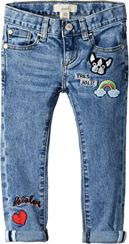 PEEK - Greta Patches Jeans (Toddler/Little Kids/Big Kids)