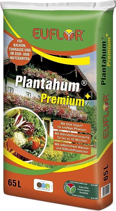 Plantaflor Plus Tomatenerde Gem/üseerde 80 Erde Gew/ächshaus Erde 2 x 40 L