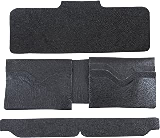 Springfield Leather Company's Six Pocket Deluxe Black Leather Wallet Interior