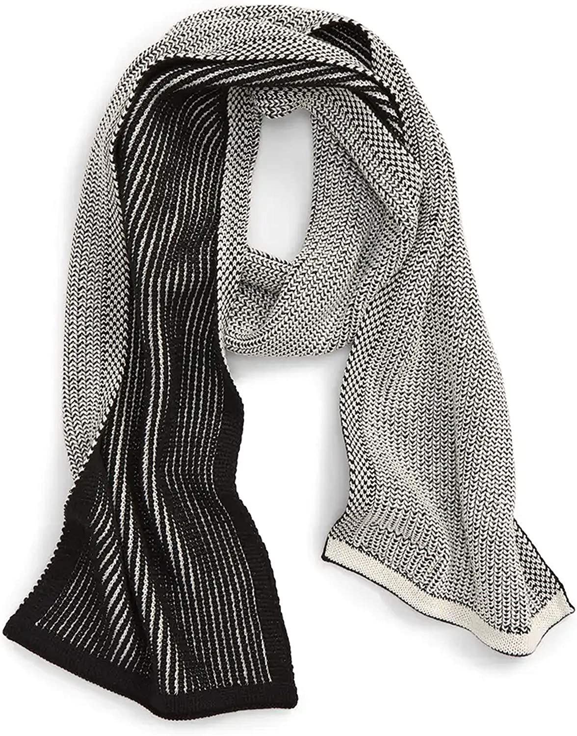 Timberland Plaited Scarf with Loop Patch