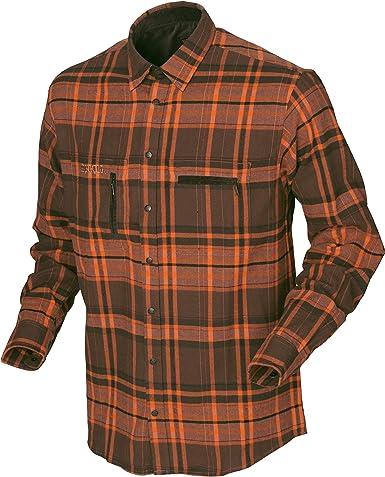 Camisa de caza de manga larga para hombre de la marca ...