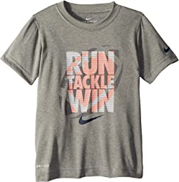 Nike Kids - Run Tackle Win Dri-FIT Tee (Little Kids)