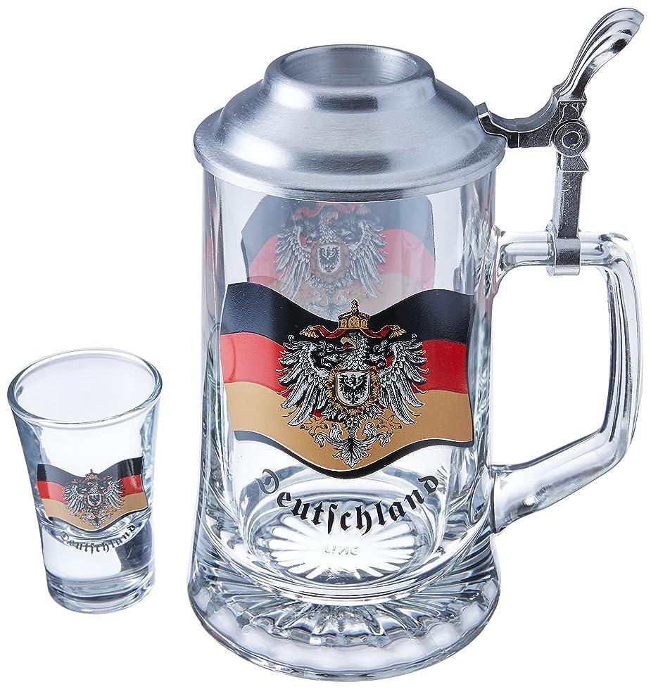 講師さびた天のM. CORNELL IMPORTERS 5986 Germany Flag Optique Stein