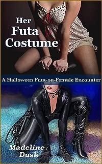 Her Futa Costume: A Halloween Futa-on-Female Encounter