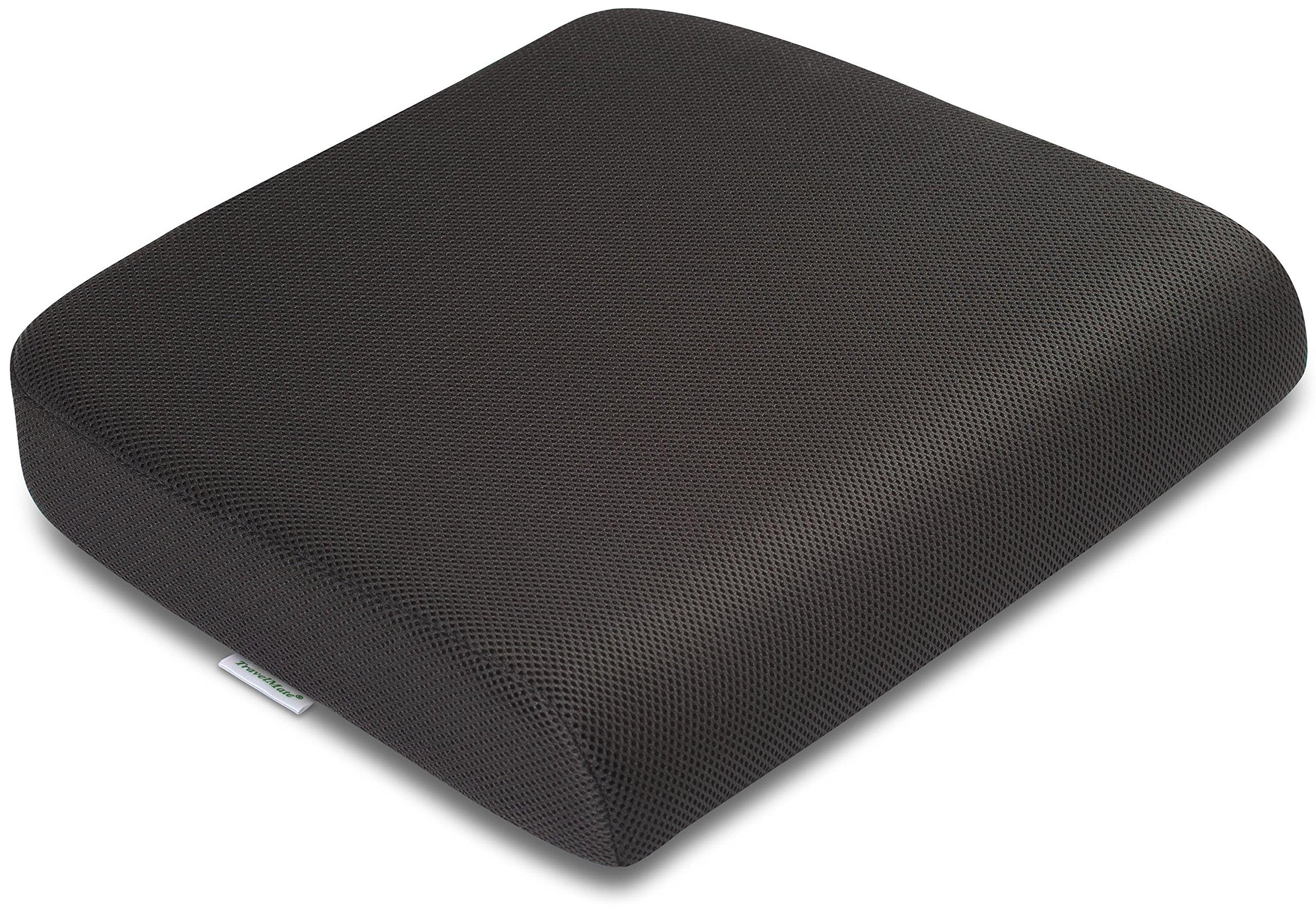 TravelMate Extra Large Memory Foam Cushion