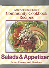 Better Homes and Gardens Salad & Appetizers: The Best of America's Community Cookbooks (Better Homes and Gardens Test Kitchen)