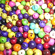 Acai Beads Mixed Colors Pack of 50