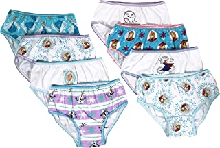 f63e16b50 Disney Frozen Girls Panties Underwear - 8-Pack Toddler Little Kid Big Kid