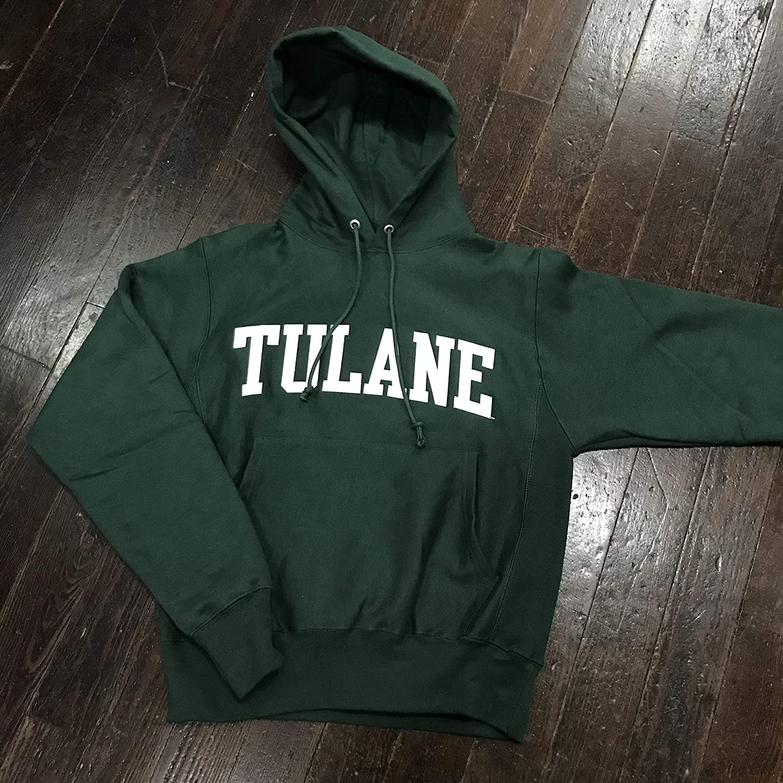 Tulane Ranking TOP15 University Champion Reverse Crewneck Weave Sweatshirt cheap