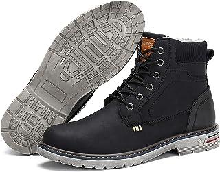 comprar comparacion Hombre Botas Invierno Mujer Botines Zapatos Botas de Nieve Cálido Fur Forro Aire Libre Boots