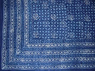 Homestead Dabu Indian Tapestry Cotton Bedspread 108