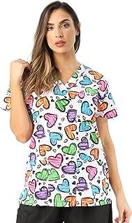 Women's Scrub Tops Scrubs Nursing Scrubs