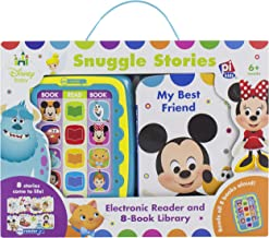Disney Baby Mickey, Minnie, Frozen, and More! - Electronic Me Reader Jr Snuggle Stories 8 Book Library - PI Kids