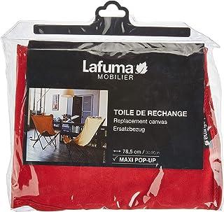 Lafuma LFM2670-6534 Airlon - Tela di ricambio per sedia pieghevole Maxi Pop-Up, 100% Poliestere, Rosso