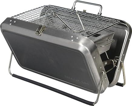 Kikkerland BQ01 便携 BBQ 手提箱,黑色 Portable BQ01