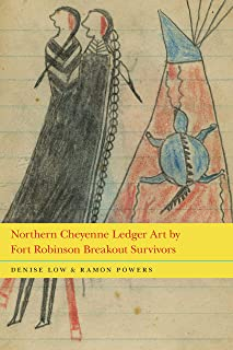 Northern Cheyenne Ledger Art by Fort Robinson Breakout Survivors