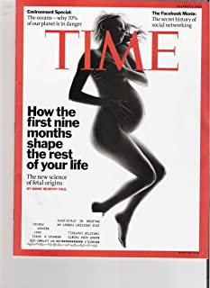 Time Magazine October 4, 2010 (How the first nine months shape the rest of your life)