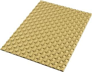 silikomart 23.059.63.0065 Tapis et Feuilles de Cuisson, Silicone, doré, 25 x 18,5 x 0,6 cm