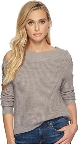 Aneesa Open Shoulder Sweater