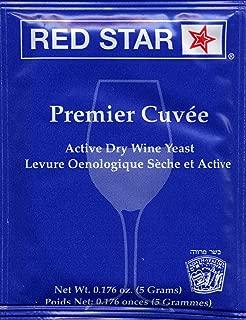 Red Star Premier Cuvee Wine Yeast, 5g - 5-Pack