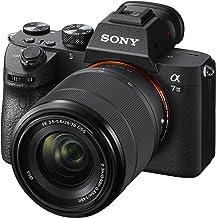 Sony - Cámara Sony a7 III sin espejo y con lentes intercambiables, con lente óptica de 1.10 a 2.75 pulgadas