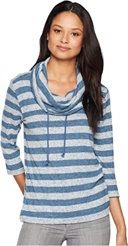 Tiny Dancer Marled Knit Striped Top