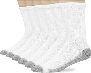 Hanes FreshIQ calcetines acolchados para hombre, paquete de 6