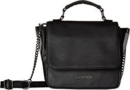 Crossbody with Faceted Clamp Hardware