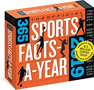 Official 365 Sports Facts-A-Year Page-A-Day Calendar 2019