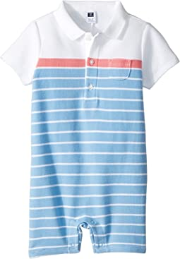 Stripe Pique One-Piece (Infant)